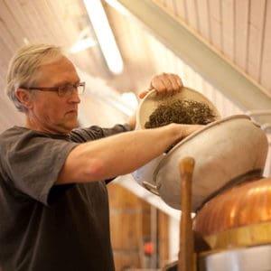 Wintercoat mikrobryggeri ølsmagning