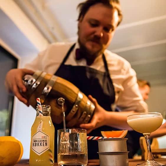 Cocktailsmagning og kursus hos Timm Vladimirs Køkken