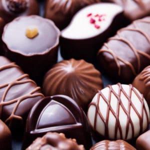 Spis alt hvad du kan - Chokoladesmagning hos Søberg