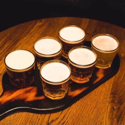 Tir Na Nog ølsmagning