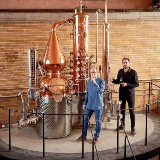 NJORD destilleri ginsmagning