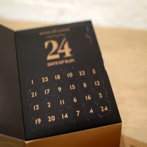 24 days of rum kalender