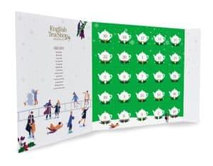 English tea shop julekalender med grøn te