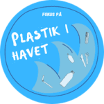 Plastik i havet badge